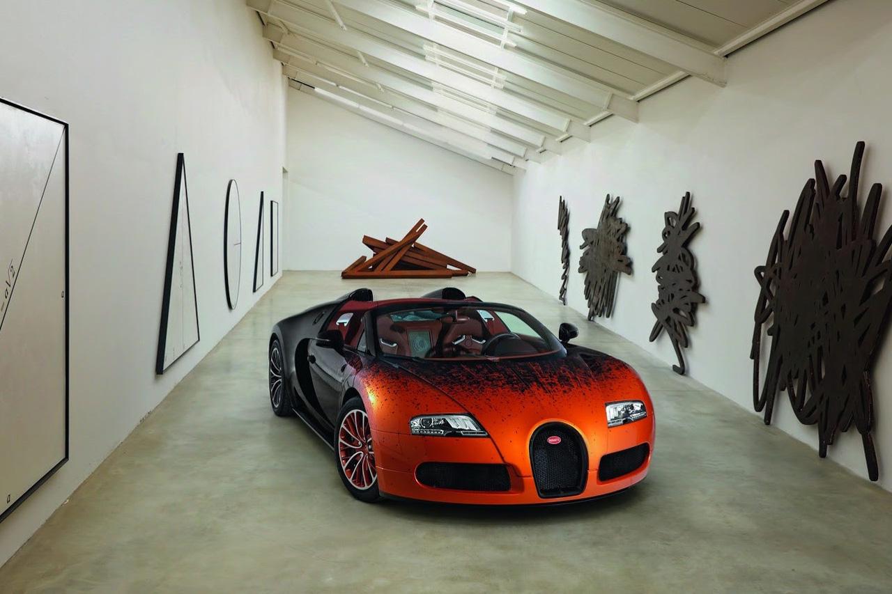 Image of Bugatti Veyron Grand Sport Bernar Venet Edition