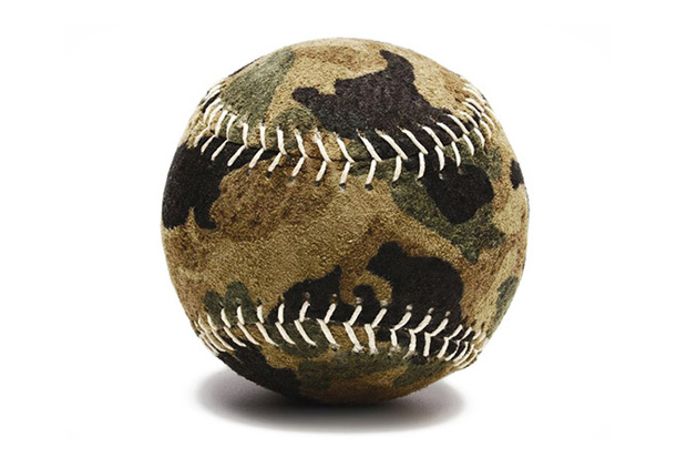 Image of Camo Baseballs a Reality Courtesy of Bergino Handmade Baseballs