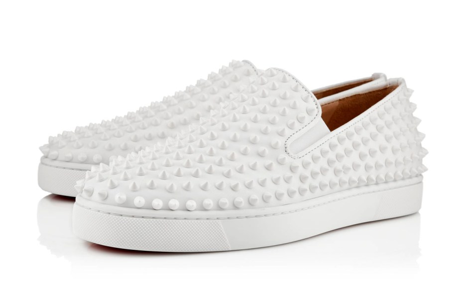 Image of Christian Louboutin 2013 Spring Roller-Boat Flat White