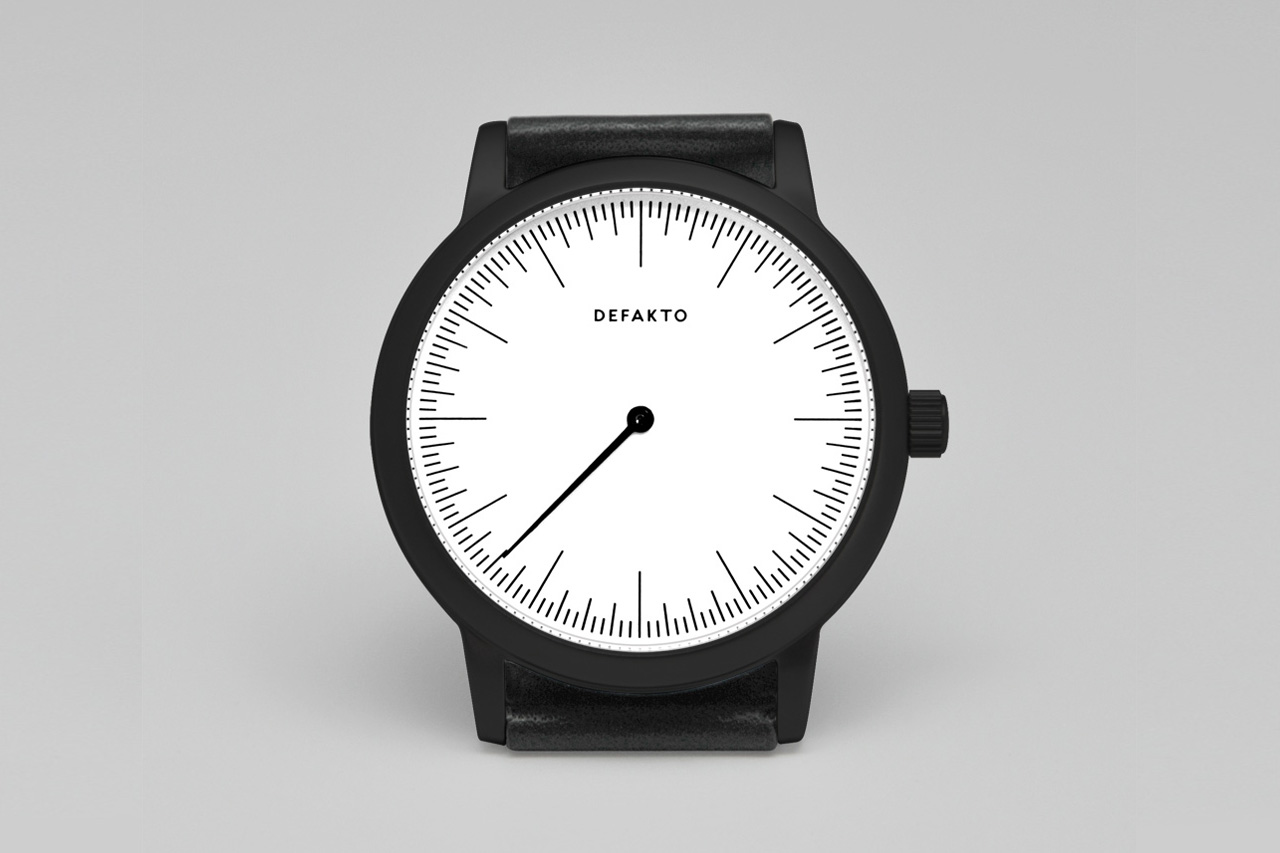Image of Defakto PVD-Coated Steel Detail Watch