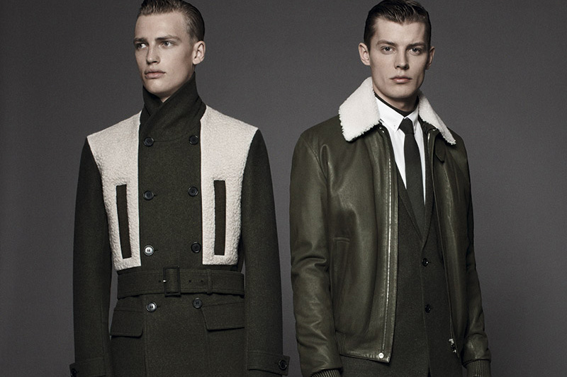"Image of Dior Homme ""les essentiels 4"" Shearling Jackets"