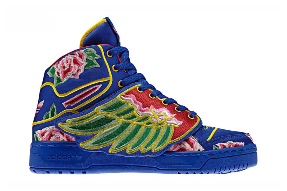 Image of Eason Chan x adidas Originals by Jeremy Scott 2013 JS Wings