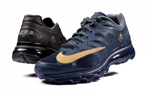 Image of F.C.R.B. x Nike Air Max + 2012