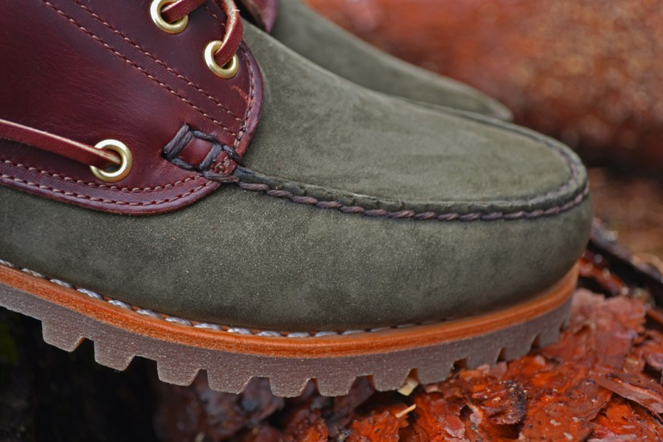 Image of FRESHNGOOD x Timberland 3-Eye Lug Sole Moc Bespoke