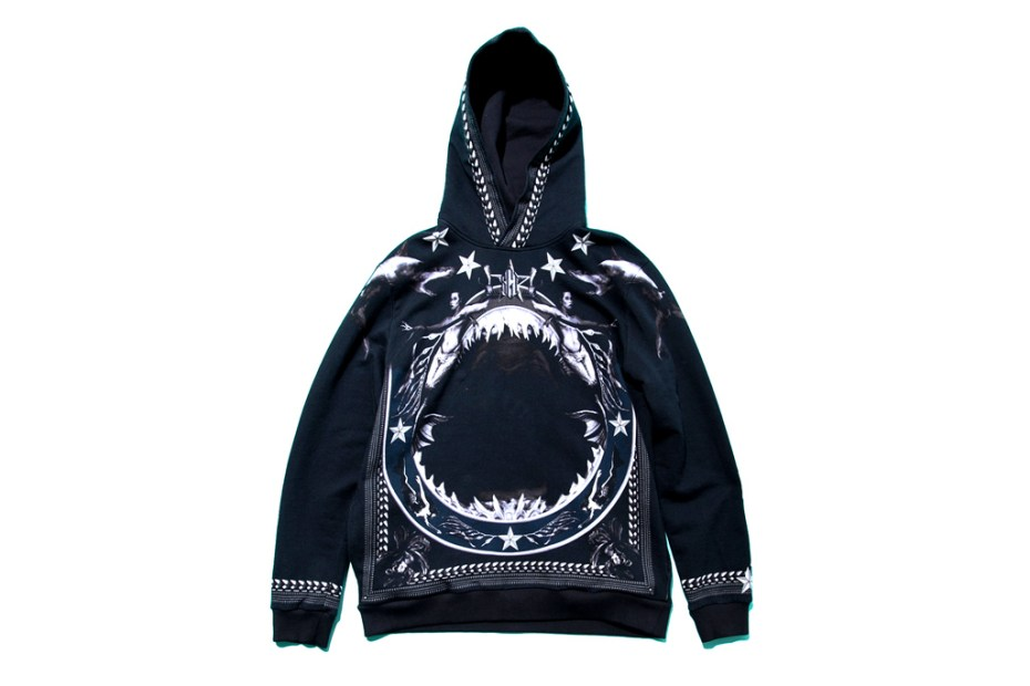 Image of Givenchy 2012 Fall/Winter Shark-Print Hoodie
