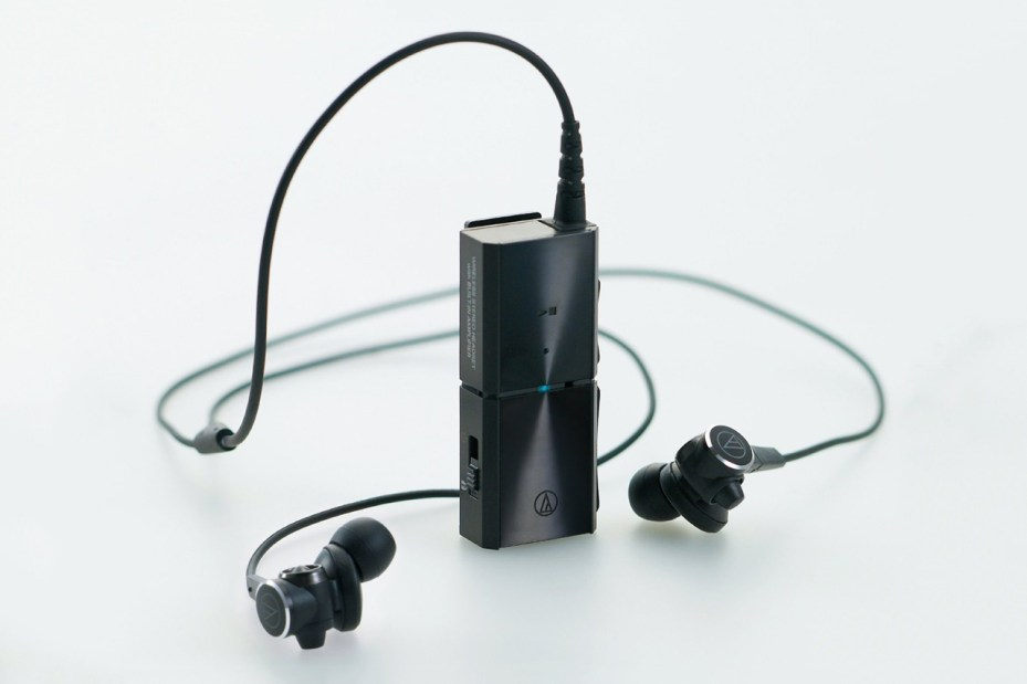 Image of Go Wireless with Audio-Technica's ATH-CKS99BT Bluetooth Earbuds