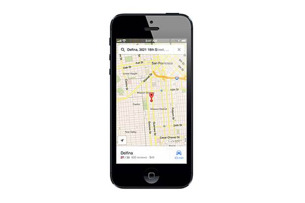 Image of Google Maps Returns to the iPhone