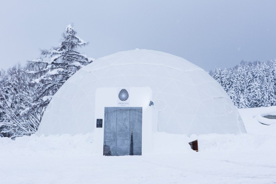 "Image of Head Porter Hokkaido ""SNOW EGG"" Pop-Up Store"