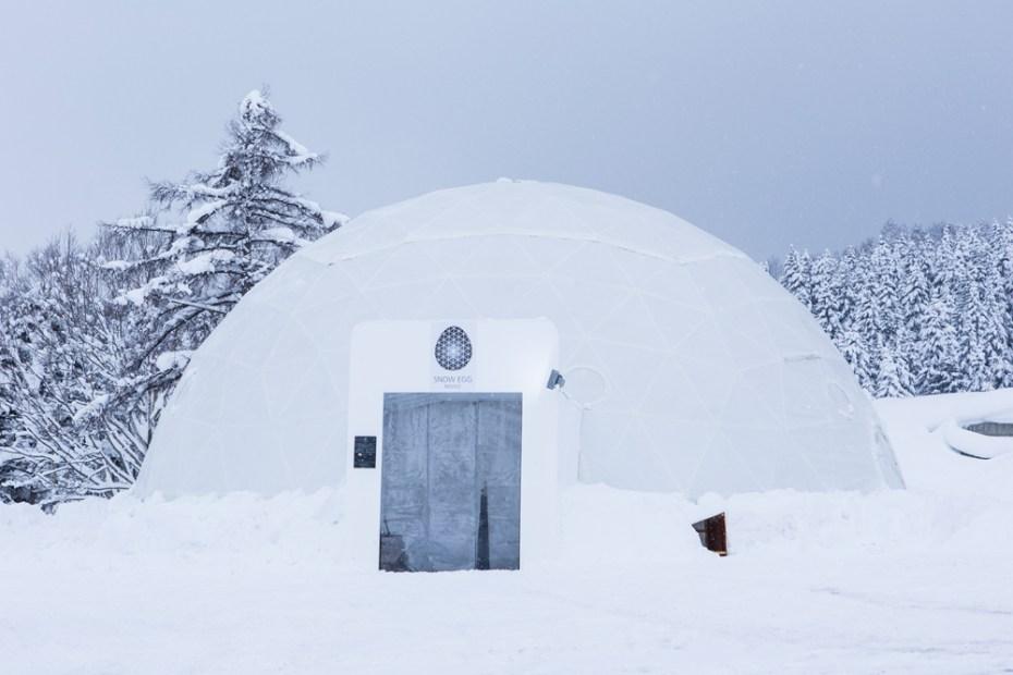 "Image of Head Porter Hokkaido ""SNOW EGG"" Pop-Up Store"