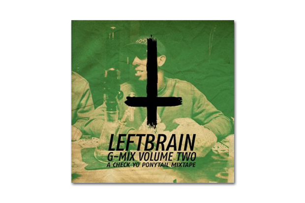 Image of HYPETRAK Premiere: Left Brain – G-Mix Volume 2 (A Check Yo' Ponytail Mixtape)