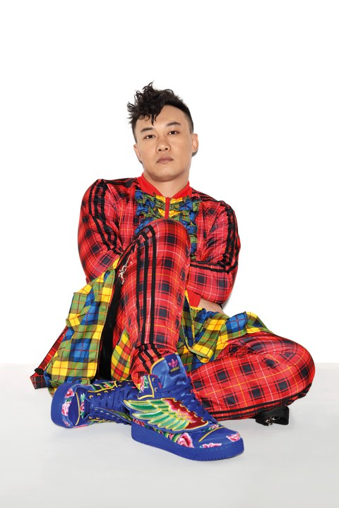 Image of Jeremy Scott and Eason Chan Showcase Their New Collaborative JS Wings