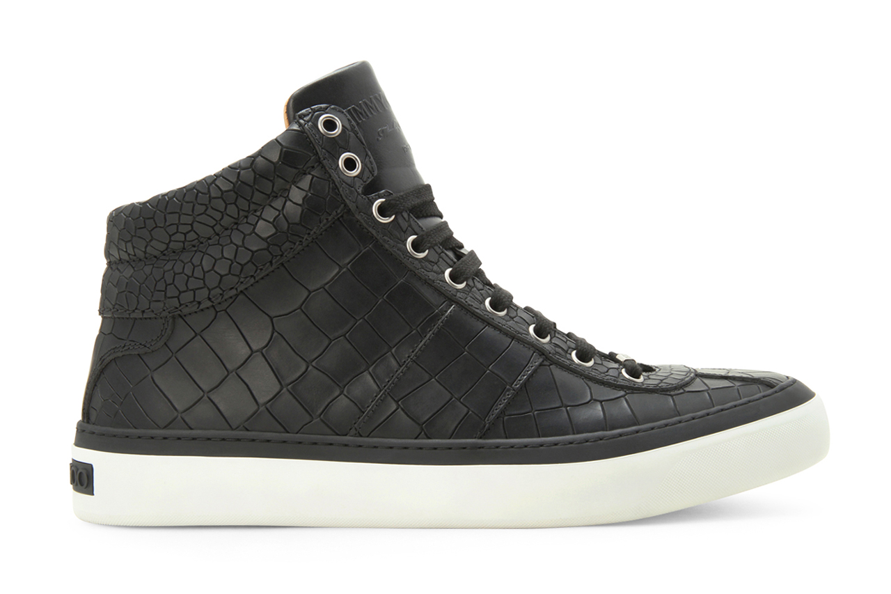 Image of Jimmy Choo 2013 Spring/Summer Croco Emboss Sneaker