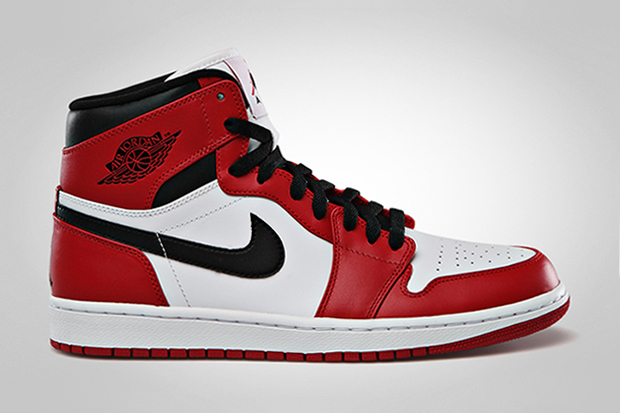 Image of Jordan Brand To Release OG Colorway Air Jordan 1 Retro High White/Varsity Red - Black