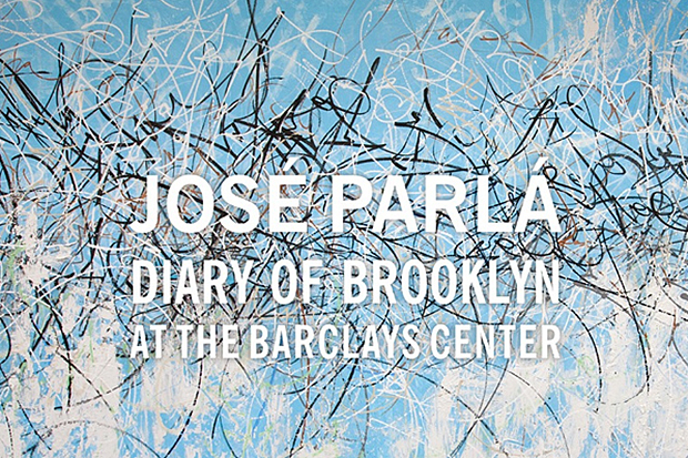 Image of José Parlá 'Diary of Brooklyn' @ The Barclays Center
