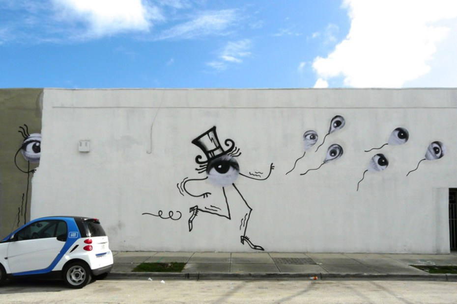 Image of JR x André @ Basel Week Miami 2012
