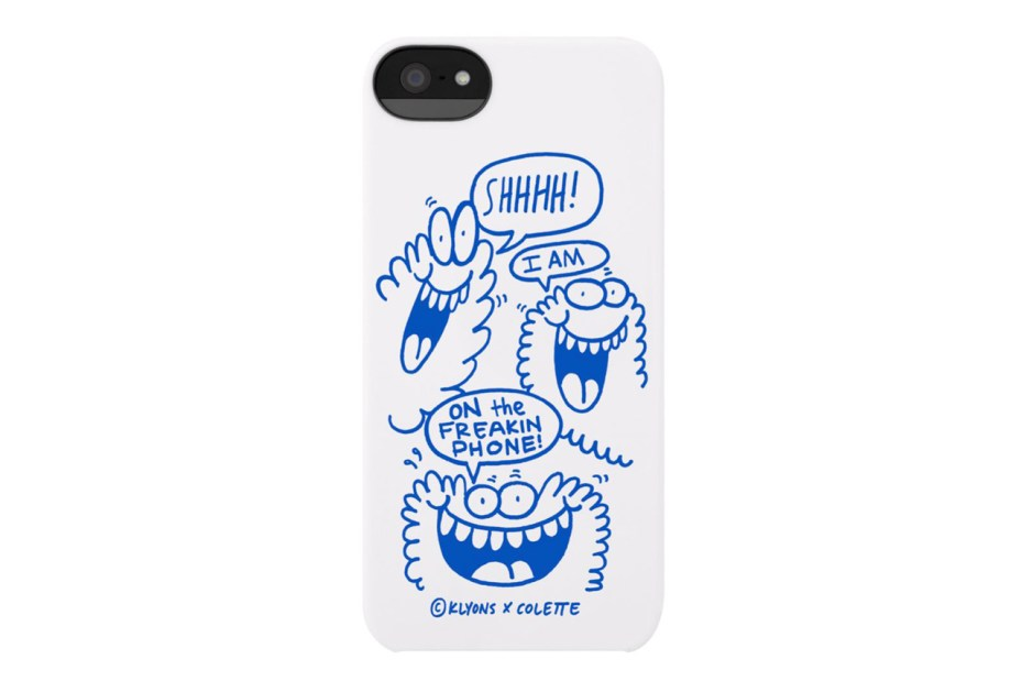 Image of Kevin Lyons x Incase iPhone 5 Case for colette