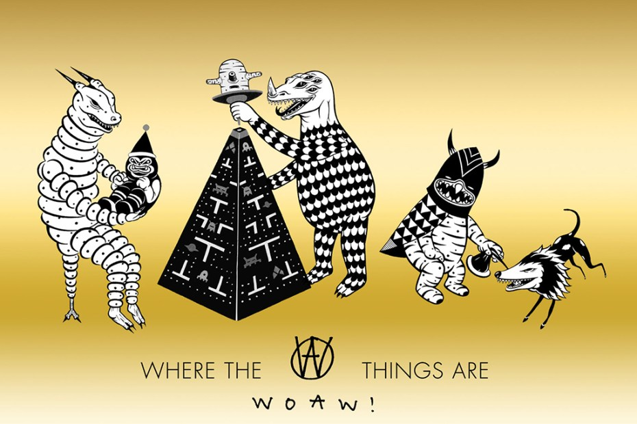 "Image of Kevin Poon's ""Where the WOAW! Things Are"" Starts This Wednesday"