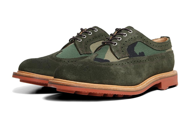 Image of Mark McNairy Two Tone Long Wing Brogue
