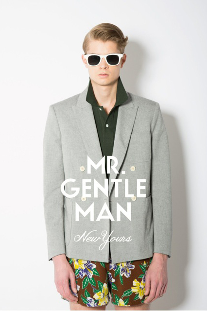 Image of MR. GENTLEMAN 2013 Spring/Summer Collection Preview