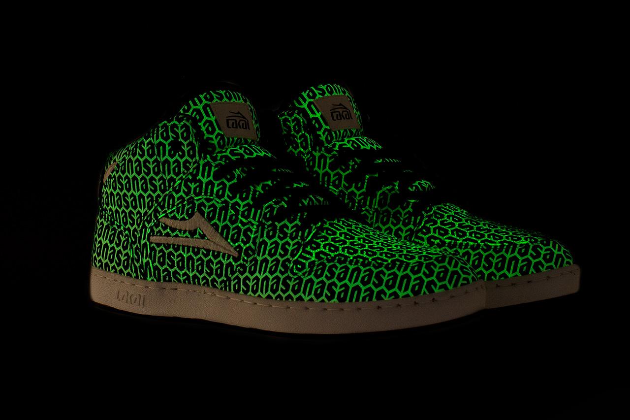 Image of N.A.S.A. x Lakai Glow-in-the-Dark Telford Shoe