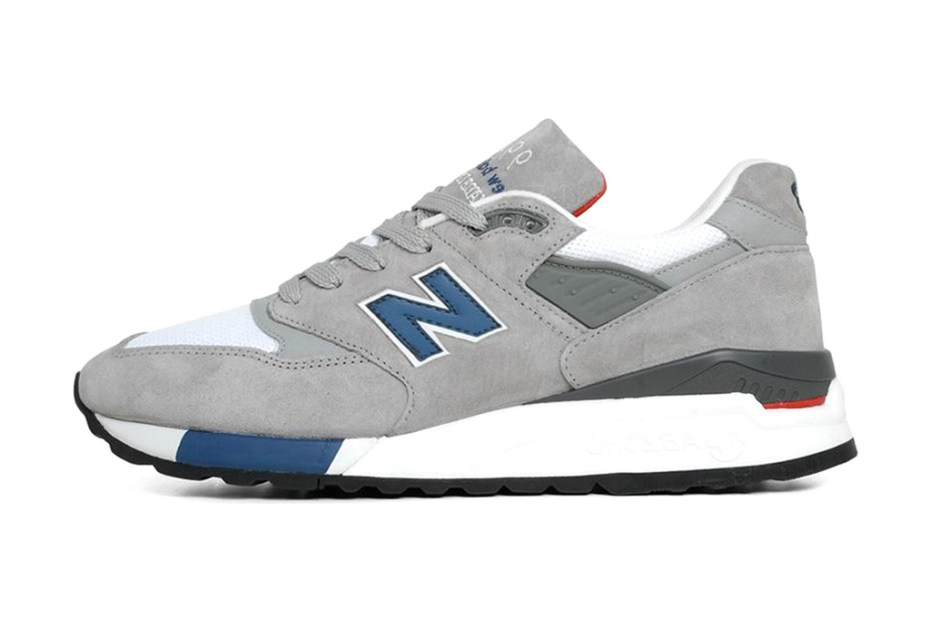 "Image of New Balance M998RR ""Grey/Blue"""