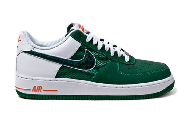 "Image of Nike Air Force 1 ""Irish Varsity"""