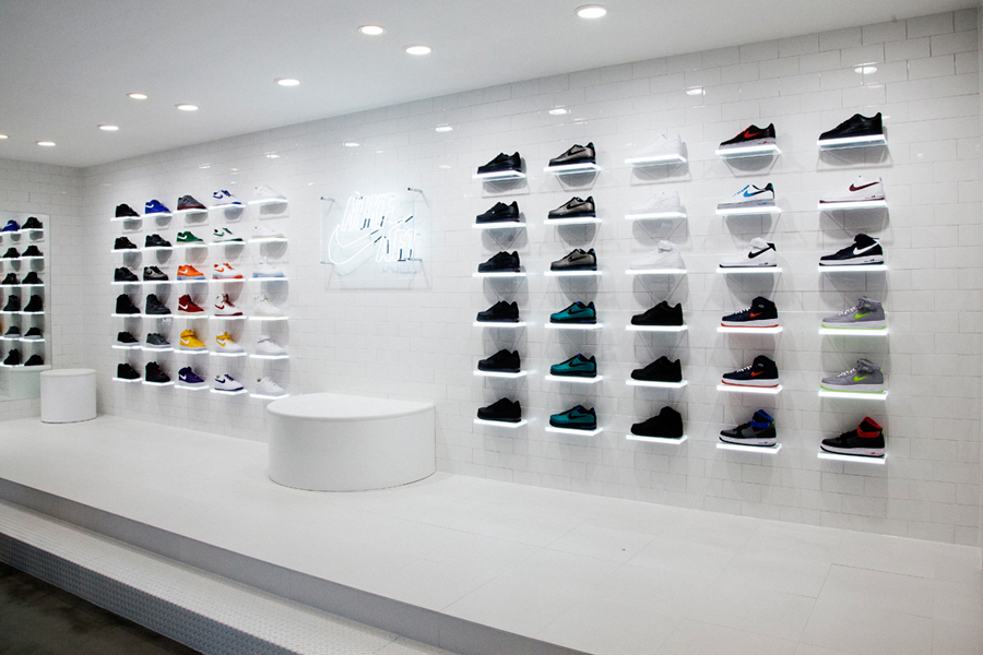 "Image of Nike Air Force 1 XXX ""The Pivot Point"" 30th Anniversary Pop-Up Store"
