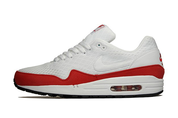 "Image of Nike Air Max 1 Premium EM ""University Red"""