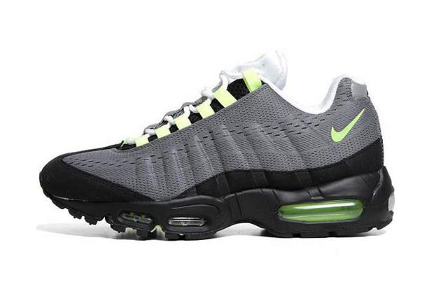 "Image of Nike Air Max 95 EM ""Cool Grey/Volt Black"""