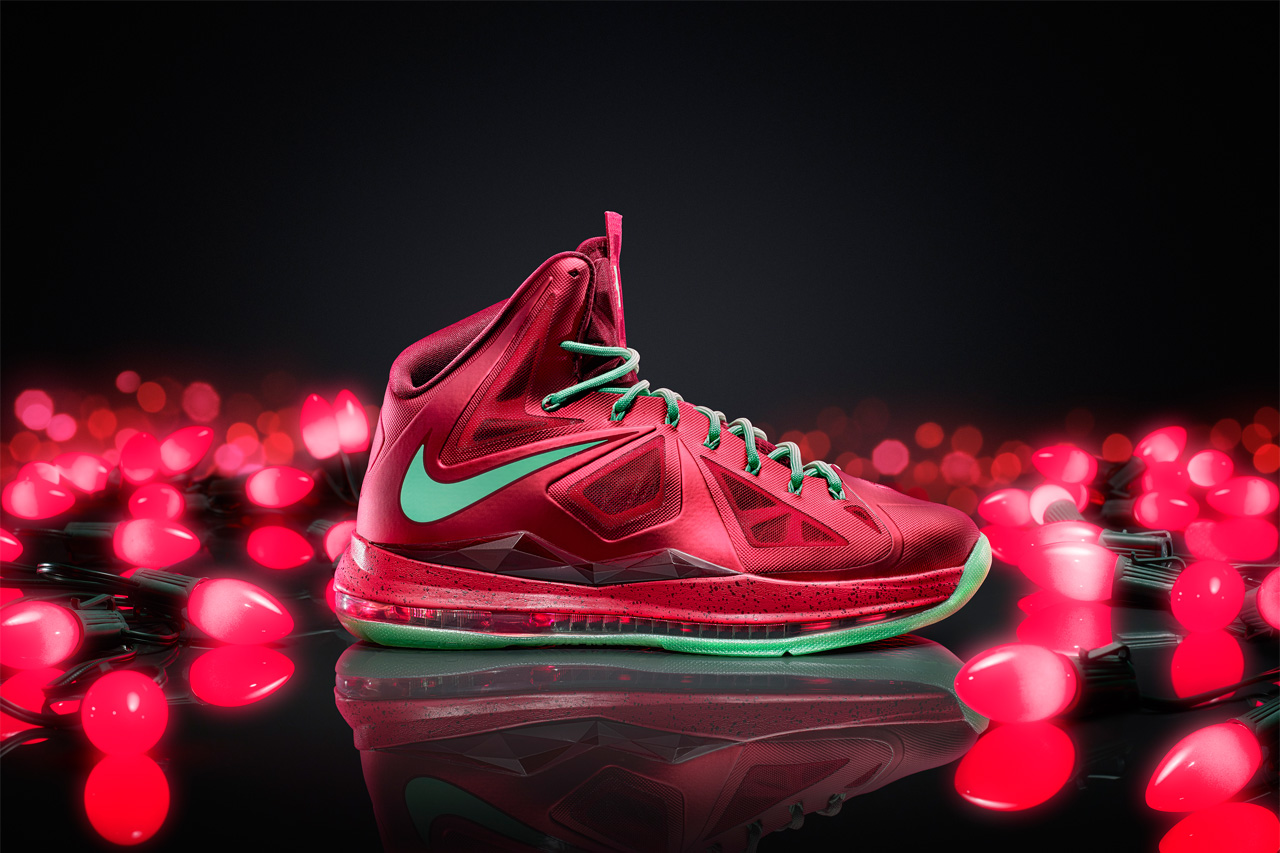 Image of Nike Basketball Release Christmas Versions of the Kobe 8 System, LeBron X and KD V