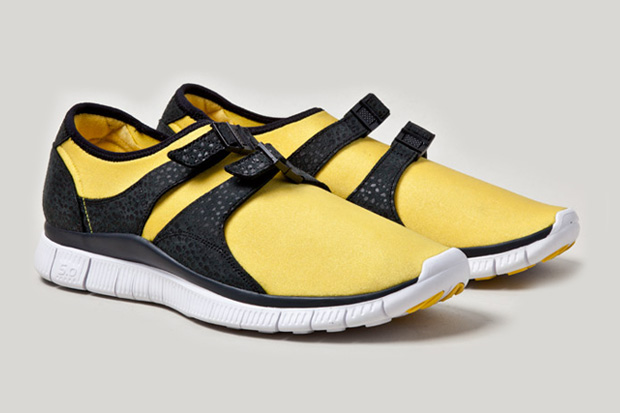 "Image of Nike Free Sock Racer ""OG Yellow"""