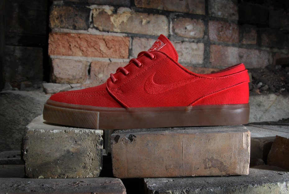 "Image of Nike SB Zoom Stefan Janoski ""Hyper Red"""