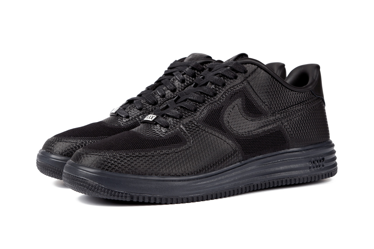 Image of Nike Sportswear Lunar Force 1 Fuse NRG Black/Anthracite Further Look