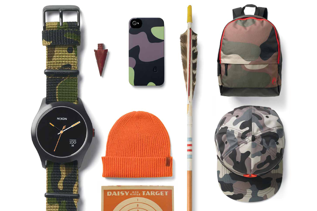 Image of Nixon 2013 Spring/Summer &quot;Camo&quot; Collection