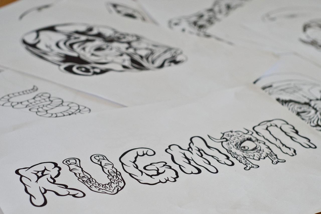 Image of Pen & Paper: Rugman