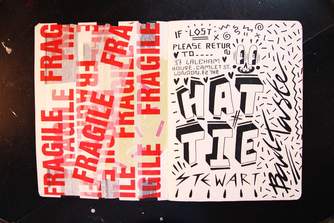 Image of Pen & Paper: Hattie Stewart