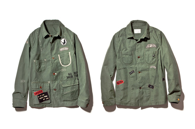 "Image of Porter Classic 2013 Spring/Summer ""Hand Work"" Jacket"