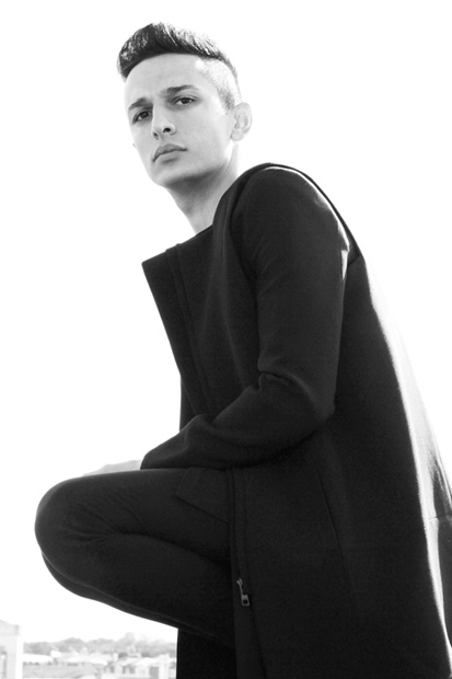 Image of Rad Hourani Models the Pre-RAD Unisex Collection Limited Edition: Part 2