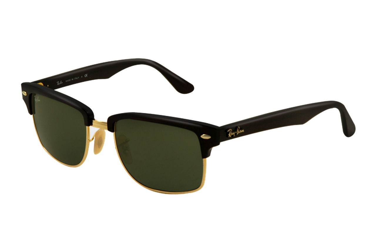 Image of Ray-Ban Squared Clubmaster Sunglasses