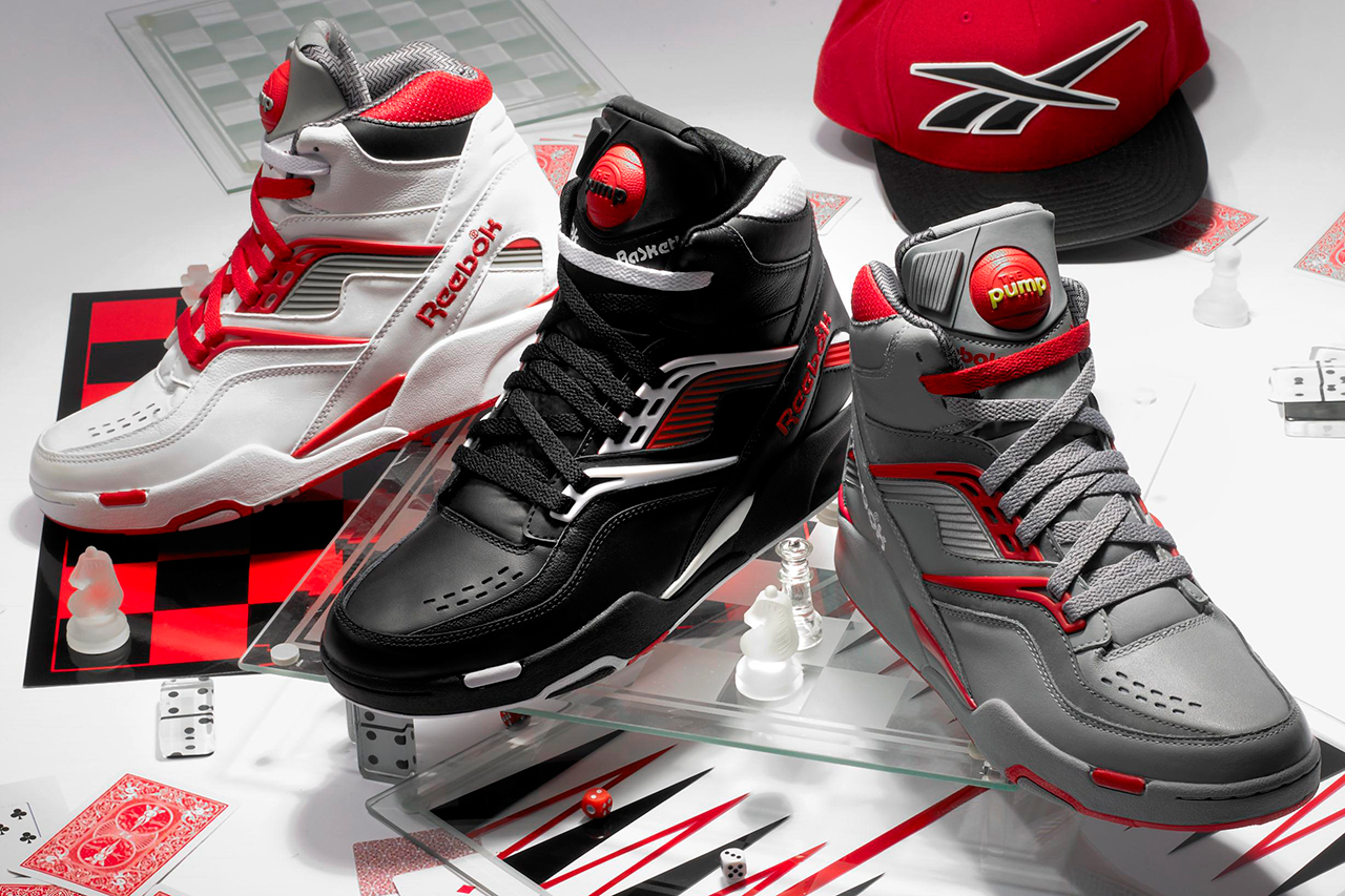 Image of Reebok 2012 Holiday Twilight Zone Pump Collection