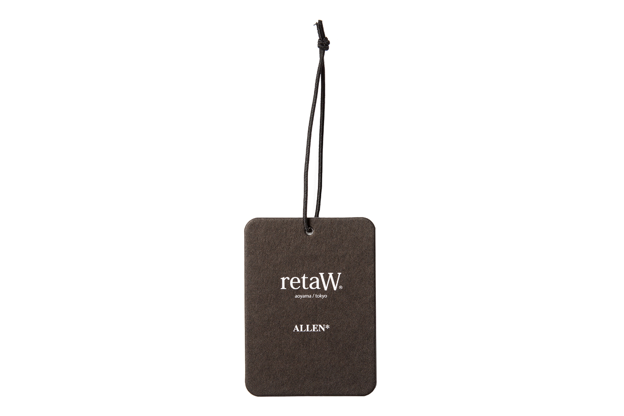 Image of retaW Allen Fragrance Luggage Tag