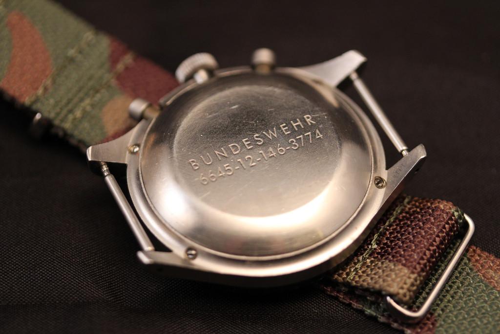Image of RETROSPECT: Heuer Bundeswehr Chronograph