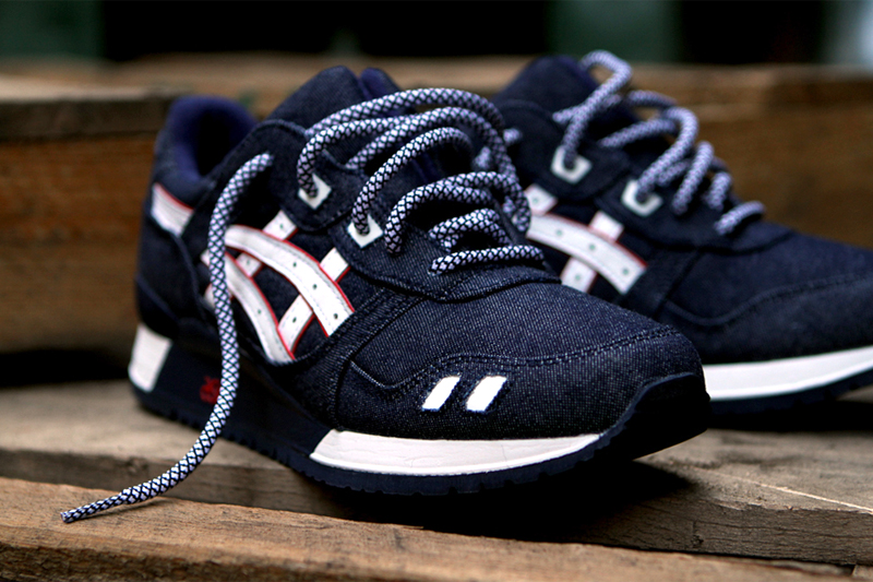 "Image of Ronnie Fieg x ASICS ""Selvedge"" Gel Lyte III"