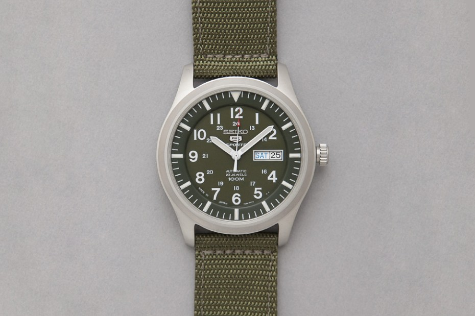 Image of Seiko Made In Japan Military Watch
