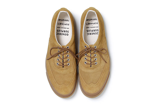 Image of SOPHNET. x nonnative 2013 Spring/Summer Wingtip Sneaker by Generic Surplus