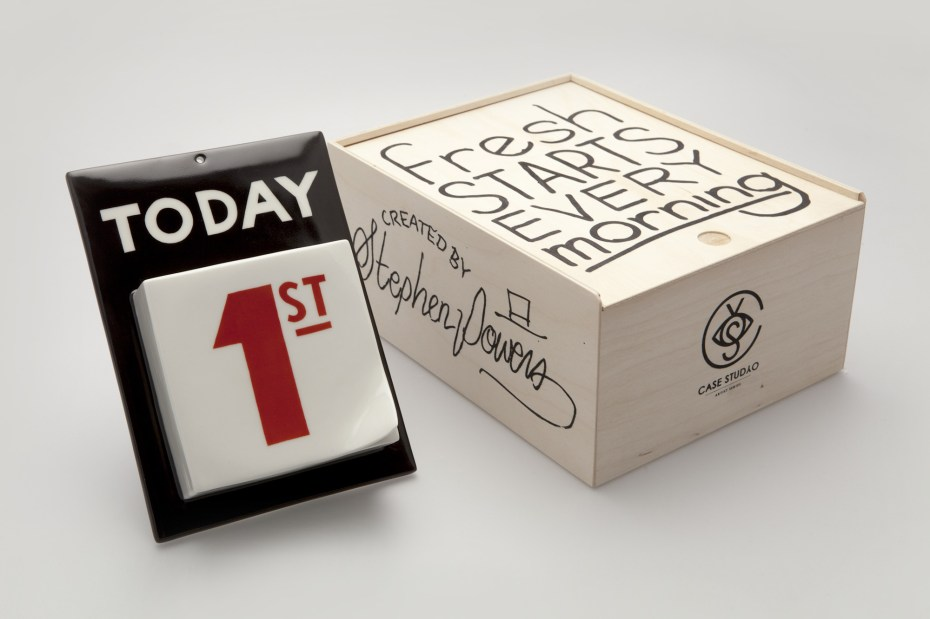 Image of Steve Powers x Case Studyo Porcelain Calendar