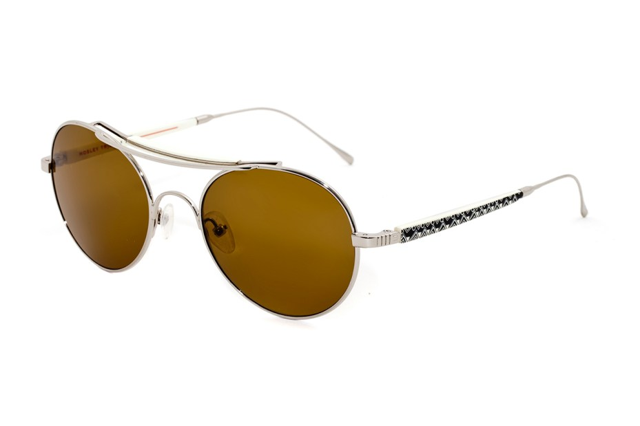 Image of Stussy x Mosley Tribes Aviator Sunglasses