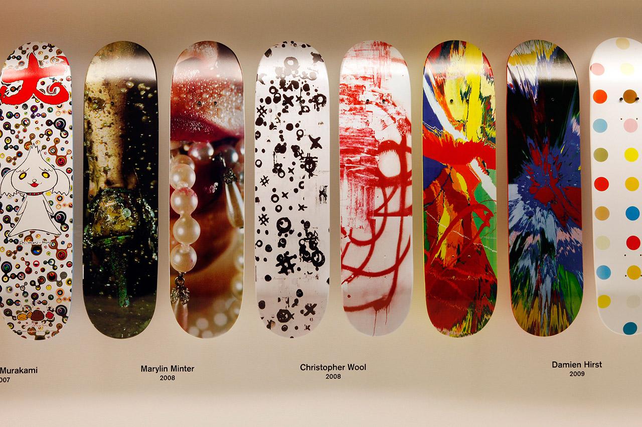 Image of Supreme Skate Deck Retrospective Recap @ 032c Workshop Berlin