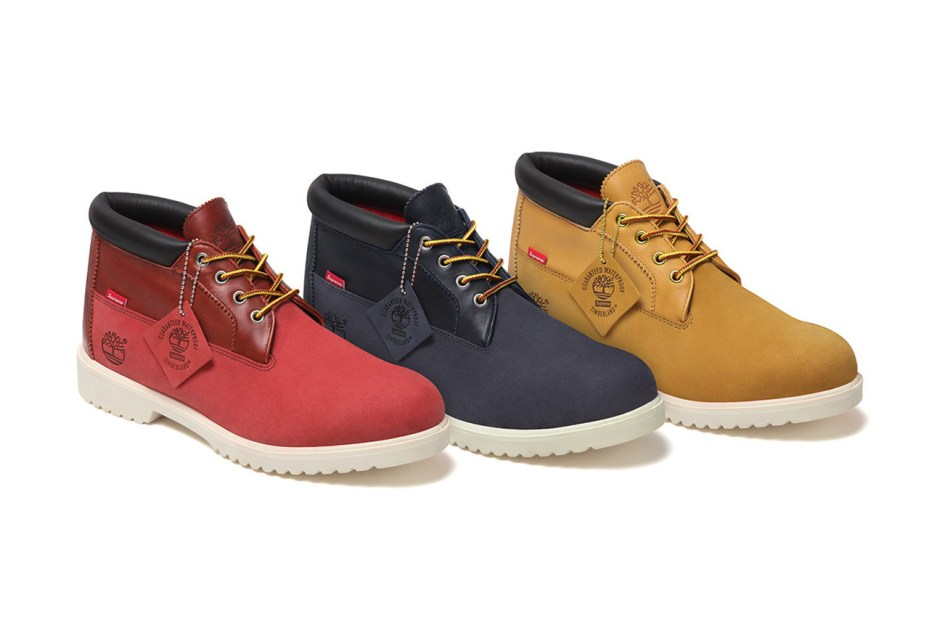 Image of Supreme x Timberland 2012 Fall/Winter Waterproof Chukka Boot