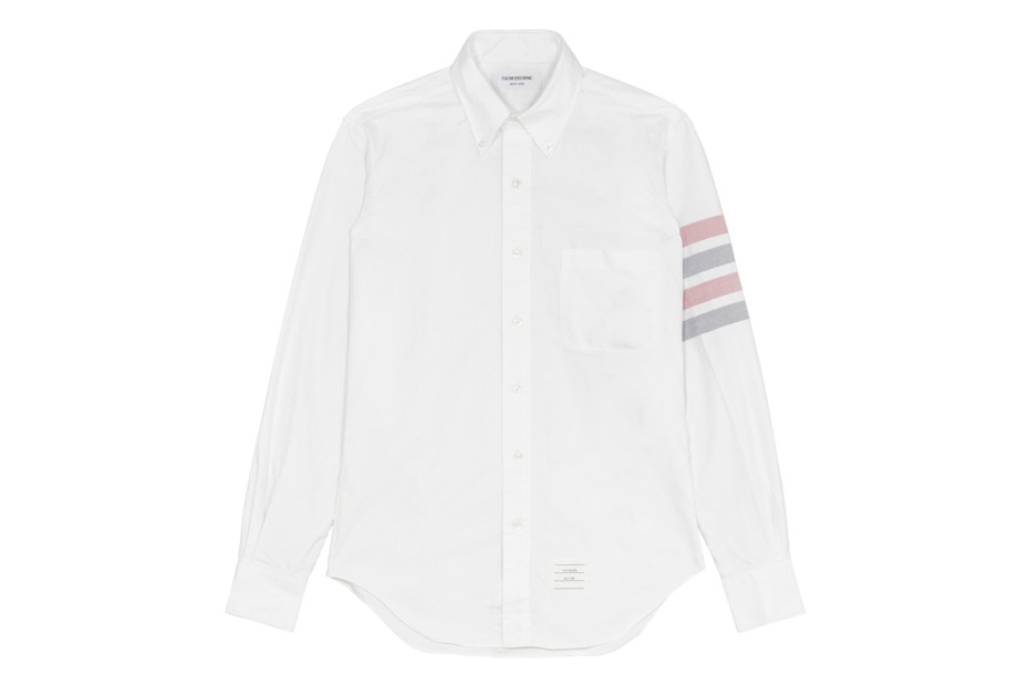 Image of Thom Browne 2013 Spring/Summer Oxford Sleeve Stripe Shirt